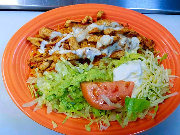 Chicken Dinner Mexican Restaurant Charleston WV