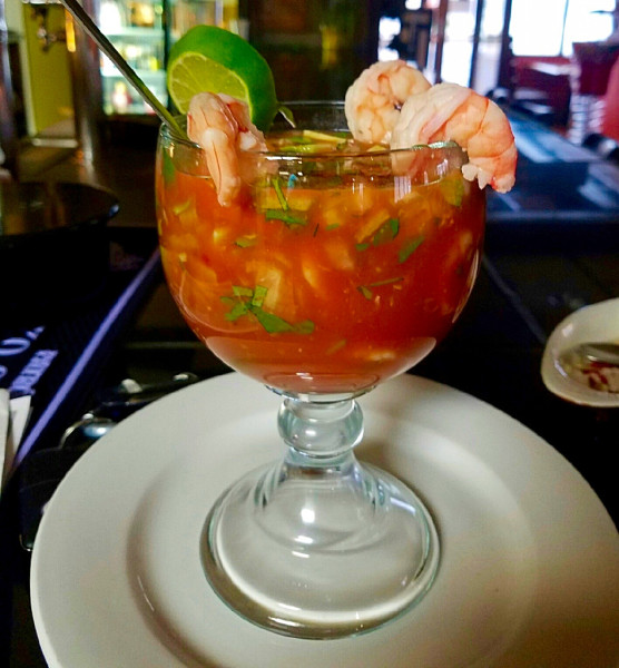 Shrimp Coctail Mexican Restaurant Charleston WV